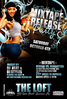 MIXTAPE RELEASE PARTY by DeityDesignz