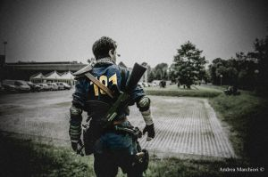 Fallout 3 - Lone Wanderer Costume by FredProps