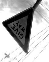 Give way by yoursonly
