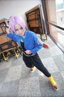Mirai trunks appears by ShineUeki33