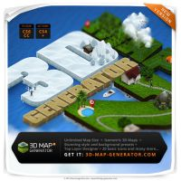 3D Map Generator 2 - Isometric by templay-team