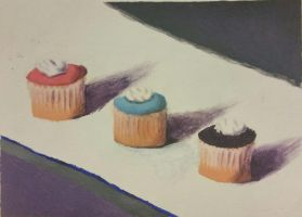 Practice: Cupcakes by CosmicDeviant