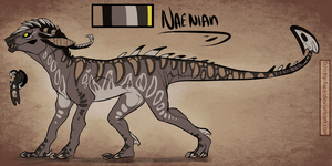 Naenian Ref-V.1 by Stitchy-Face