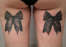 Ready loops old bow TaT by 2Face-Tattoo
