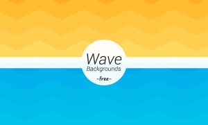 Free Wave Geometric Backgrounds by Designslots