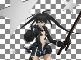 [MMD Newcomer]Black Rock Shooter 2035 by M0fD