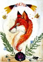The Fox.The Blood of the Bold. by 00BlacKBerrY00