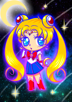 Sailor Moon Doodle by RedShoebox