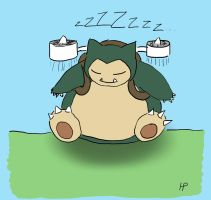 Reddit Request - Jetpack Snorlax by Morbidi