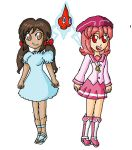 seychelles and behoimi with a rotom by babyblisblink