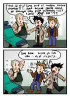 Cas vs The Tattoo Parlour by blackbirdrose