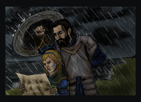 And When The Rain Begins To Fall... by Mutantenfisch