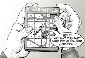 Rawai Road Widening Puzzle by sethness