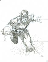 Cap pencils by Jim Cheung by lebeau37