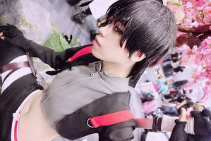 Naruto Shippuden: Sai (Cosplay) by i-Arvie-i