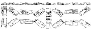Mass Effect 2, Sky Car - Contour Reference. by Troodon80