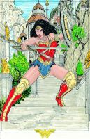 11 x 17 Wonder Woman FOR SALE by Dingodile24