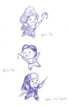 Waha Pirates - yarr :3 by cocohints