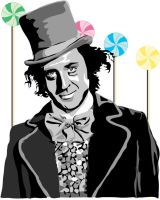 Willy Wonka by emulated-human by Golden-ticket