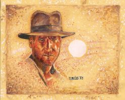 Indiana Jones with Border by Soloboy5