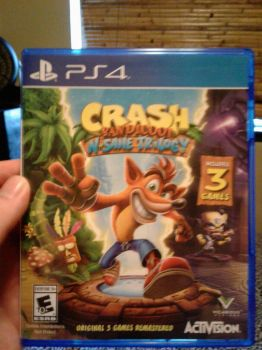 Crash Bandicoot: N' Sane Trilogy for PS4 by Loth-Eth
