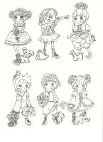lalaloopsy doodles by electricjesuscorpse
