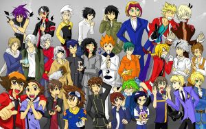 30 Men of Japan by bluecrysto