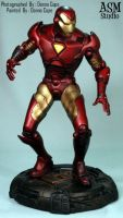 Iron Man Statue Painted - 04 by ASM-studio