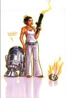 Leia's got aim by kickstandkid78