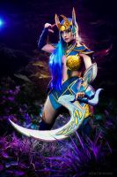 Diana Cosplay - League of Legends by Feoranna