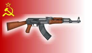 Soviet AK-47- 1955 Model by stopsigndrawer81