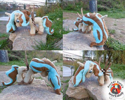 (SPECIAL) Regular Princess Tempora plushie by Rocket-Punk