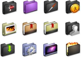 Alumin Folders Icons by FreeIconsFinder