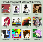 2011 Summery of art by Forced-enjoyment