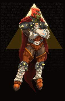 Ganondorf, The King of Gerudo Thieves by Paterack