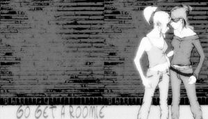 Go Get A Roomie Wallpaper 01 by Zerona000