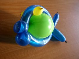 Balloon Figure1 - Fish by zommy