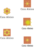 Casa Aleixo Logo studies by BlackLuna