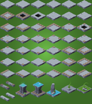 ..Updated Isometric Tiles!.. (WIP) by marsiic