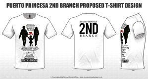 Proposed Tshirt Design for Branch II by michaeltuan97