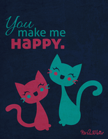 You Make Me Happy. by RiRiWillow