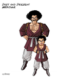Little Hercule by SuperBooney