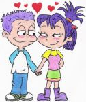 Tommy and Kimi in Love by nintendomaximus