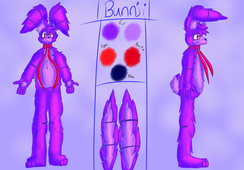 Bunnji Ref. Sheet by Ralphiedog