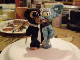 BM: TAS Two-Face Mogwai (front view) by thesometimers