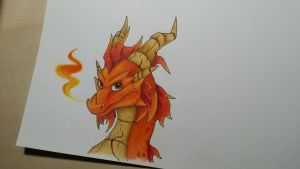 The Fire Guardian by IcelectricSpyro