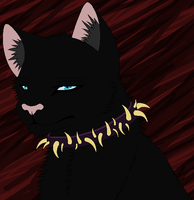 Realistic Scourge headshot by NighshadeIceheart