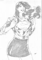 Lois Lane by Deilson
