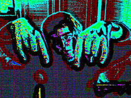 Manipulated Selfie 104: Hands Down by TheSkull31