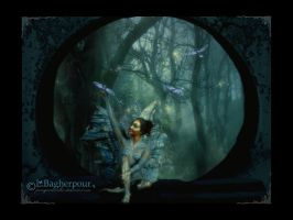 Enchanting Blue Faery by FairieGoodMother